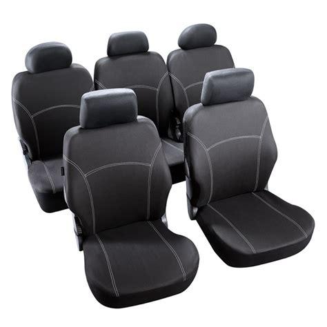 jeu complet de housses universelles voiture norauto phuket noires monospace norauto fr