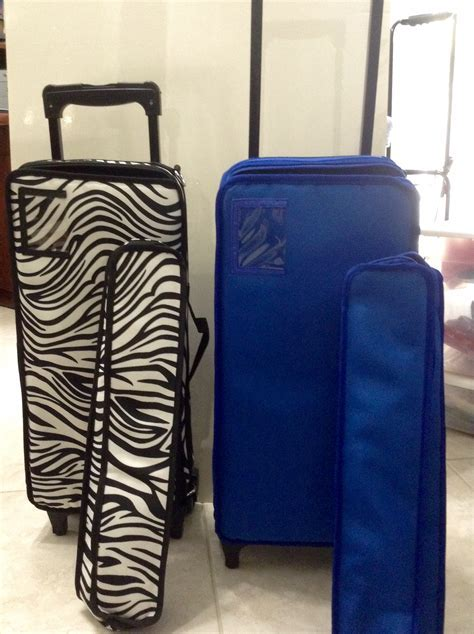 Mah Jongg Case on Wheels(Black and Zebra design)   Fun