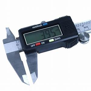 6 U0026quot  Digital Caliper Stainless Steel Electronic Vernier