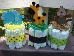 Jungle Theme Baby Shower Table Decorations