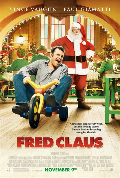 fred claus poster imp awards
