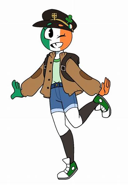 Countryhumans Ireland Humans Country