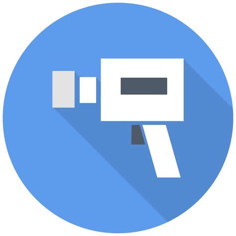 camcoder icon  flat multimedia iconset designbolts