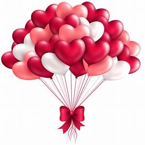 Beautiful Heart Balloons PNG Clipart Image | Gallery ...