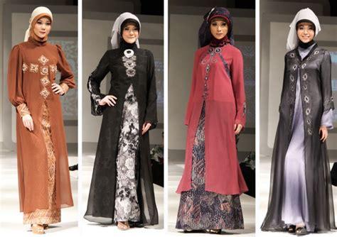 baju pesta muslim 7 contoh model baju batik muslim modern terbaik saat ini