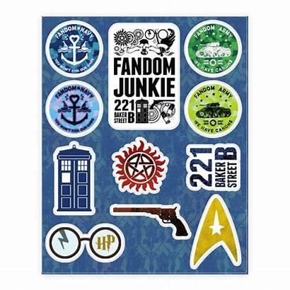 Stickers Fandom Junkie Lookhuman Sticker Human