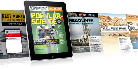 Popular Science+, Una De Las Primeras Revistas Para Ipad