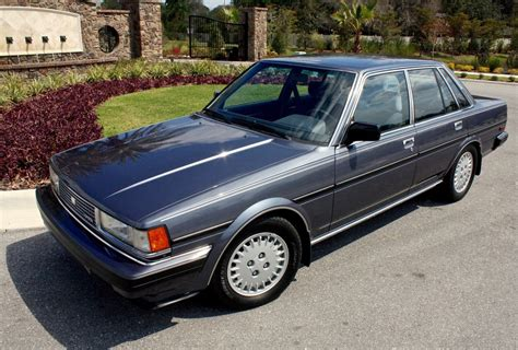 1985 Toyota Cressida 1985 toyota cressida for sale on bat auctions closed on