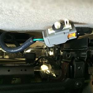 2008 F-150 Disconnected Drivers Seat Wire Harness