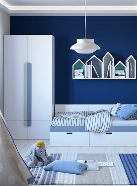 Kinderzimmer Junge Schräge by Blue Is The Colour Four Bedrooms Even If It