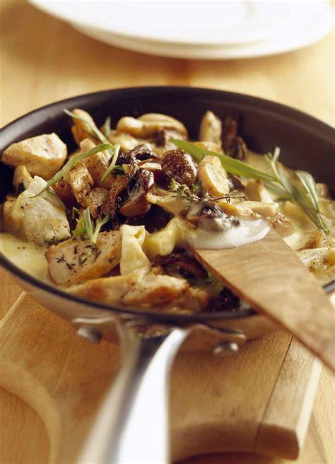 cuisine des balkans recette dodine de suprêmes de volaille à la crème et aux