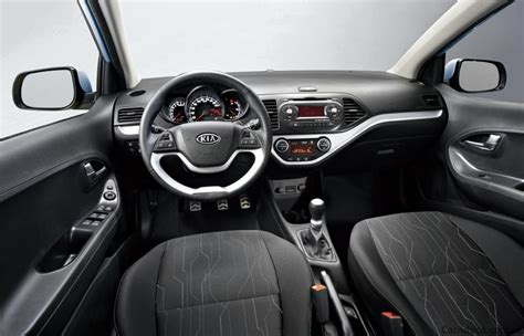 kia picanto interior image  details revealed