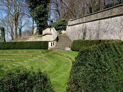 Hamburgblankenese Römischer Garten