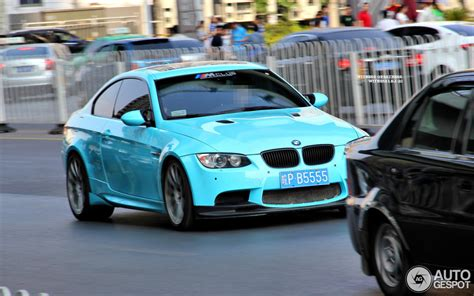 baby blue bmw   spotted  china autoevolution