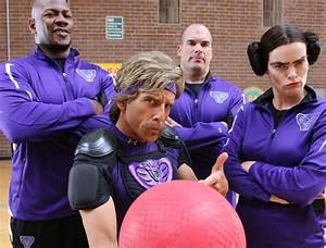 Rival Teams From The Movie U0026quotdodgeballu0026quot Reunite For Charity