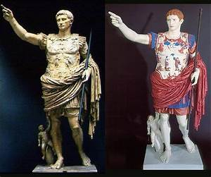 Ancient Greek and Roman Sculptures in Color | Greek ...