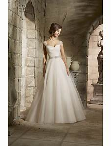 mori lee 5375 draped bodice tulle ball gown style of With draped wedding dress