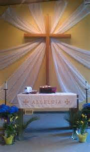 Easter Sunday Church Altar Decorations