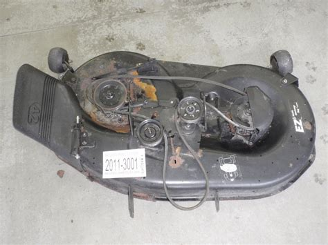 used mower deck for craftsman sears craftsman lawn mower 917 270941 42 quot mower