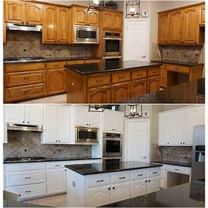 how to paint kitchen cabinets white 2186