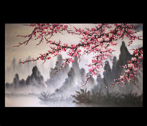 deco chambre peinture murale feng shui paintings original modern painting