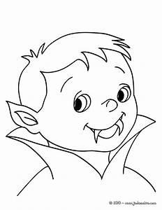 Dessin Halloween Vampire : coloriages petit vampire colorier ~ Carolinahurricanesstore.com Idées de Décoration