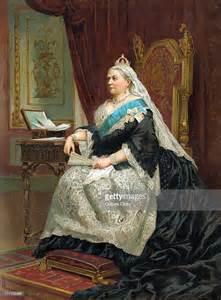 Baby Queen Victoria of England