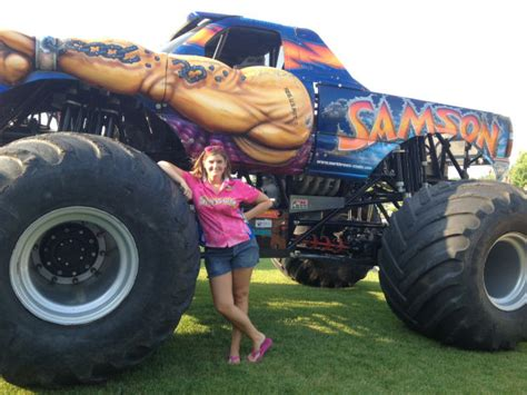 monster truck show tonight women making history at fayette county monster truck show