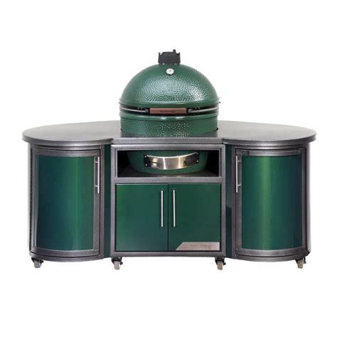 green egg kitchen custom cooking island big green egg 1372