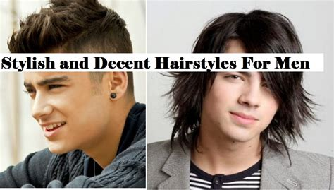 Latest Stylish And Decent Hairstyles For Men And Boys For