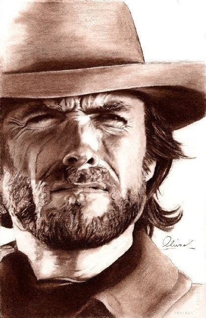Pin Marie Meadows Celebrities Clint Eastwood