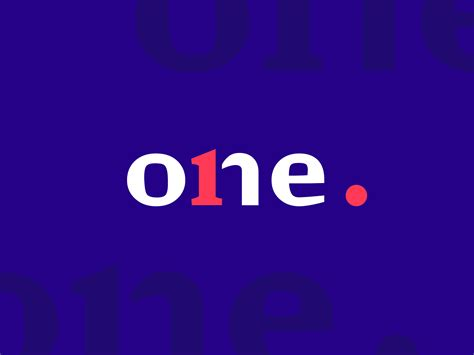 One Logo Design by tubik on Dribbble