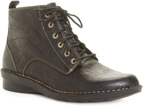 clarks nikki north booties  black lyst