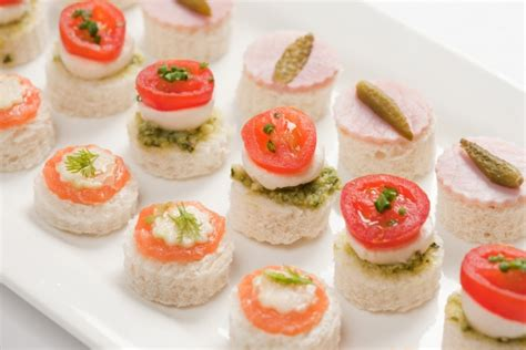 canape platters mixed canapes alistair hugo caterers