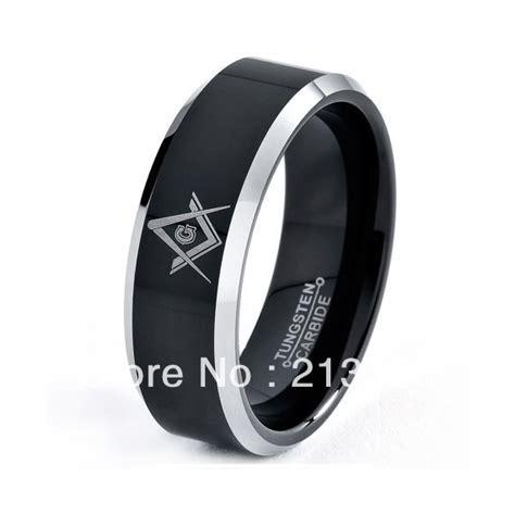 pcslot wholesale cheap price mens black tungsten carbide