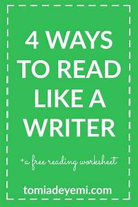 4 Ways To Read Like A Writer | Writing lessons, Writer and ...
