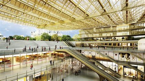 design architecture bureau 39 forum des halles facelift almost ready