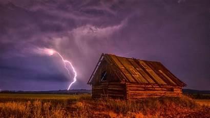 Storm Lightning Desktop Clouds Wallpapers Computer Thunderstorm