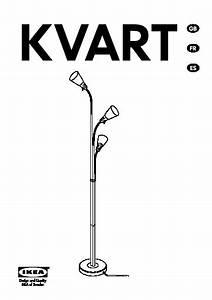kvart floor lamp with 3 spotlights black ikea united With kvart floor lamp with 3 spotlights black