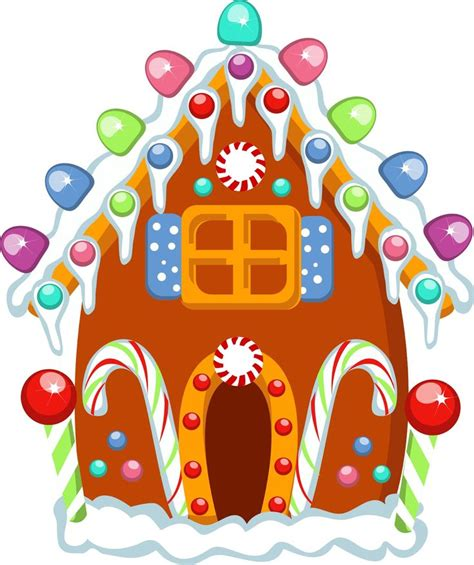 Gingerbread House Clip 203 Best Clipart Gingerbread Images On