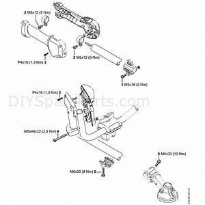 Stihl Fs 131 R Brushcutter  Fs 131 R  Parts Diagram  Q