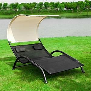 Bain De Soleil Deux Places : sobuy ogs29 sch 2 places transat de jardin bain de soleil ~ Dailycaller-alerts.com Idées de Décoration