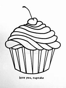 How To Draw A Cupcake - Cliparts.co