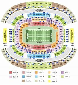 At T Cotton Bowl Seating Chart At T Stadium Tickets In Arlington Texas At T Stadium