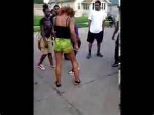 YouTube Hood Fights Girl 2013
