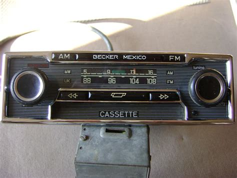 Cassette Car Radio by Becker Mexico Stereo Am Fm Car Radio With Cassette 12