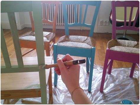 comment repeindre une chaise en bois vernis diy chaise de grand mère trendy diy artlex