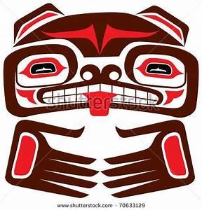 stock vector : Totem bear of american indian | Tattoos ...