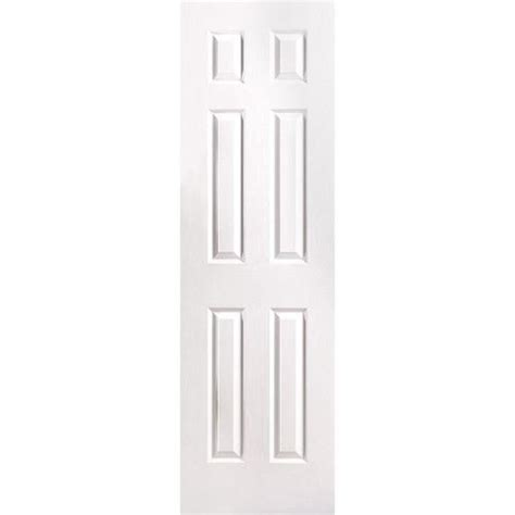 masonite traditional      primed  panel hollow core molded composite slab door