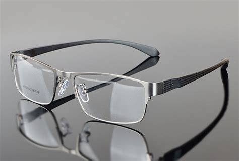 designer mens eyeglasses new designer metal rx prescription lens